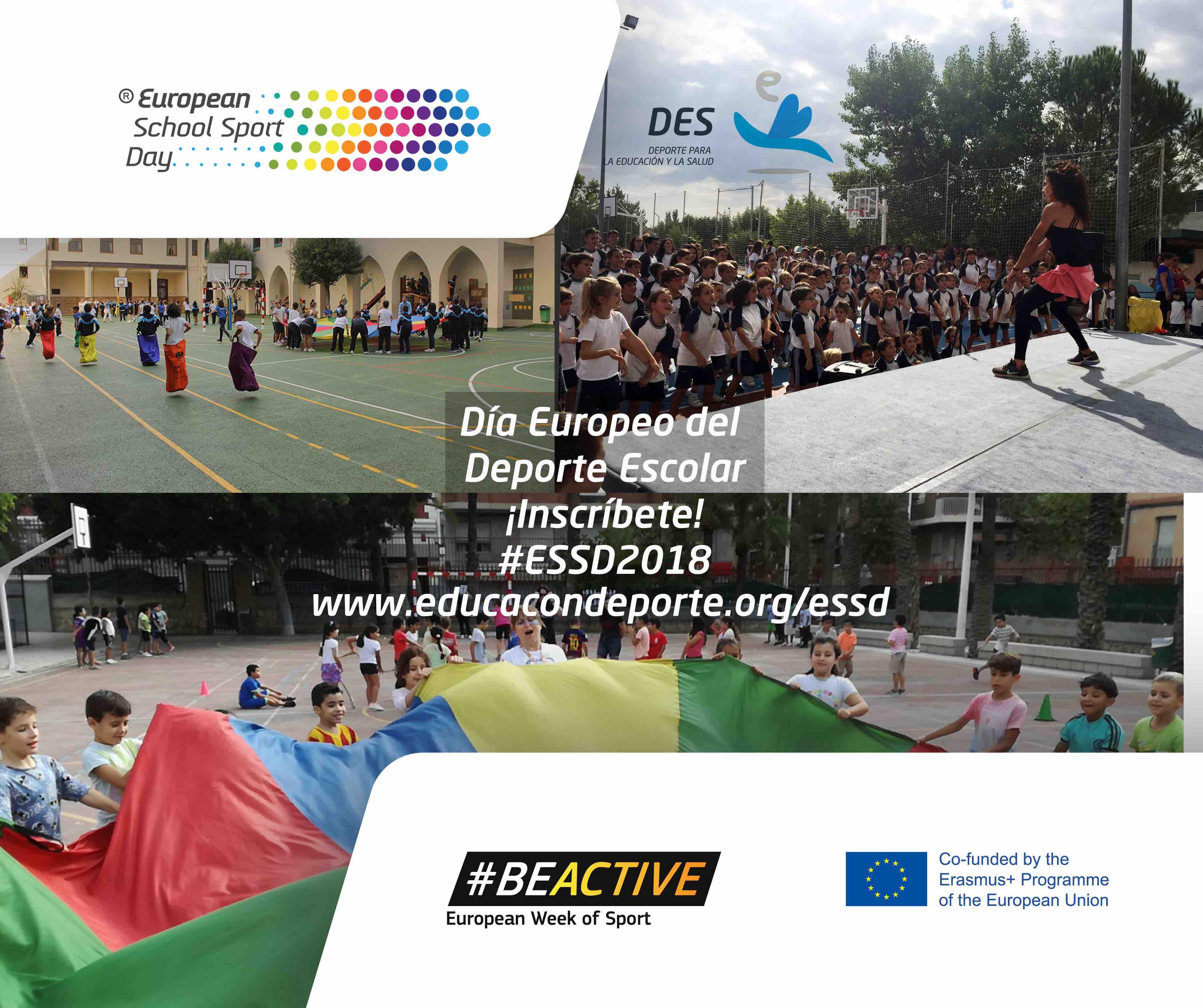 Andrés del Val Comunicación, Agencia de Comunicación seleccionada para el Día Europeo del Deporte Escolar 2018