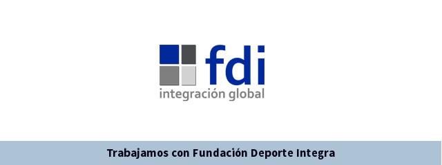 Trabajamos con la Fundación Deporte Integra